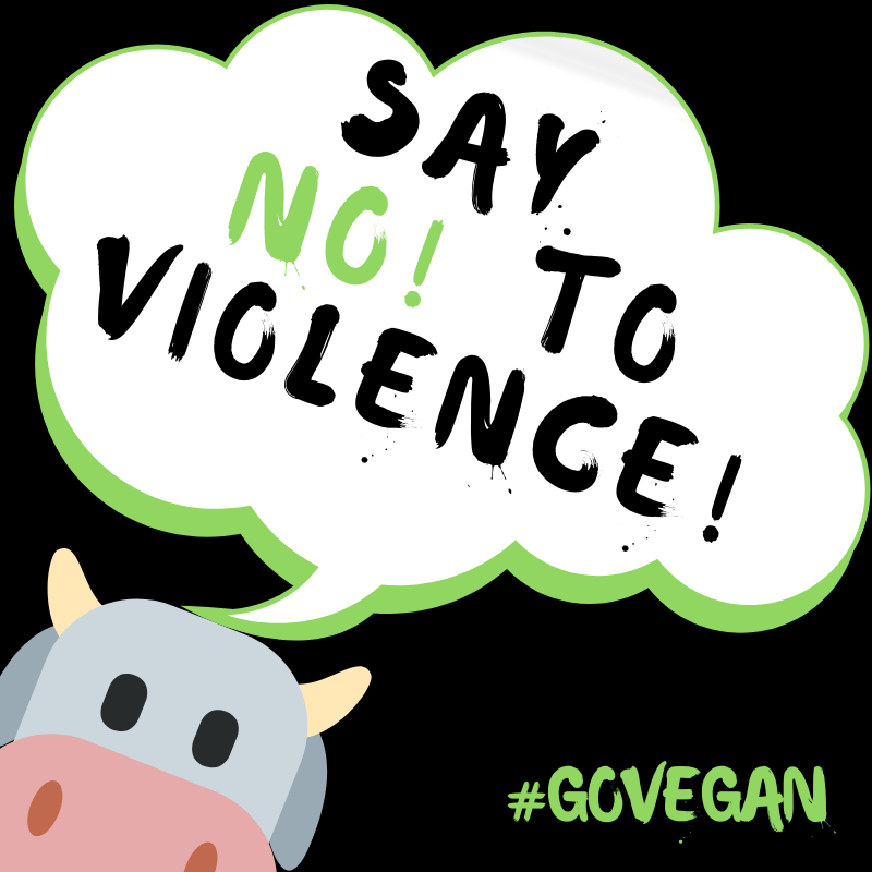 Say No to violence!